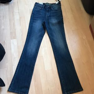 Indigo Collection Denim Slim Flare Jeans sz 9